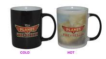 11oz hot water color changing/magic mug with full colors print