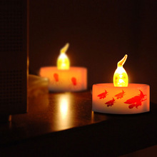 Hot Sales Halloween Witches Home Decorations Led Candle We Can Design The Halloween Theme Logo For You