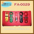 Auto reparación de herramientas de mano conjunto/fácil 4 el uso de combustible pcs& aire acondicionado línea desconecte set