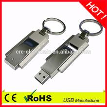 metal usb flash drive swivel usb flash drive twist usb flash drive with key ring
