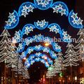 2014 puenteenarco led de iluminación de navidad luz de la calle polo