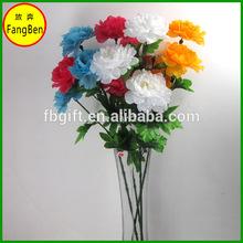 artificial royal blue rose flowers(FB015656)