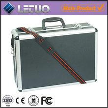 portable hard aluminum tool case,shoulder strap tool case
