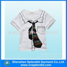 Grey color children t shirts garment factory china shenzhen
