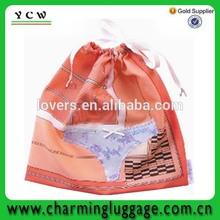 underwear plastic bag for travel/lady underwear carrier bag