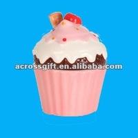 Pink Ceramic cupcake pots