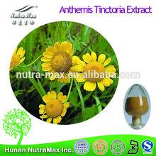 Pure Anthemis Tinctoria Extract,Anthemis Tinctoria Extract Powder,Anthemis Tinctoria P.E.Apigenin 1.2%~ 98%