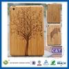 Popular universal mobile trendy current popular wood case for ipad mini