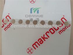 Custom Makrolon secondary forming part/Custom polycarbonate bayer foming/Makrolon secondary operation