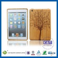 New Luxury for apple ipad mini bamboo wood case