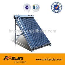 24tube Vacuum Tube Heat Pipe Pressure Solar Collector