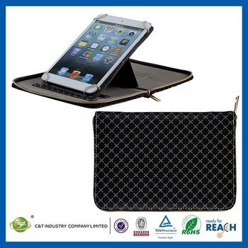 Smart design ultra thin leather case for ipad mini