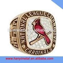 Custom cardinals championship world series ring