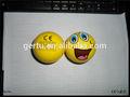 مبتسم الوجه للضغط على الكرة الإجهاد