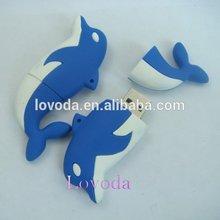 Wholesale Free sample Hotselling dolphin shape read only usb flash drive/free hot animal sex usb flash drive/usb 512gb LFN-203