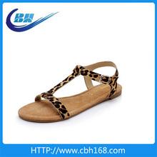 summer fashion design wedge heel lady sandals