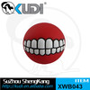 pet tooth sharp ball vinyl squeay toy dog play ball