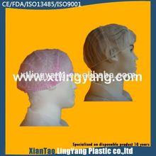 disposable printed bouffant cap