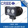 20w car led light bar cree led bar lighting 10-30v led light bar