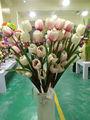 Los tulipanes de flores artificiales/tulipanes falso flor artificial en el precio de fábrica y para interiores y la decoración al aire libre