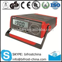 China Unit UT801 UT802 Bench Digital Multimeters