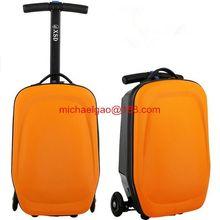 2012 best design kids scooter trolley bag Travel scooter bag trolley suitcase