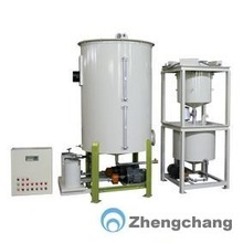 Differential weighing grease and liquid adding system