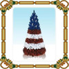 2015 New design,colorful PVC Christmas Tree,