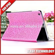 New Luxury shockproof cases for ipad mini 2 flip smart bling bling diamond cover