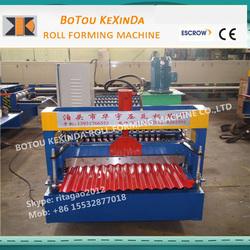 zinc corrugated making machine 850