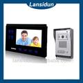 Audio visual intercom memória vídeo porteiro