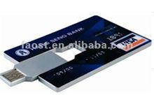 USB novelty product flash stick credit card in Shenzhen Market