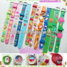 2014 new children silicon slap watch