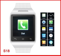 S18 bluetooth watch mobile phone capacity touch screen