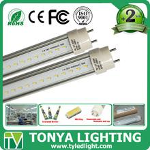 Energy Saving 3 years warranty PF>0.95 CRI>84 Guangzhou 2014 600mm t8 9w led rad tube