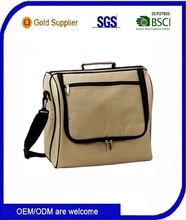 Portable solar powered cooler bag with handle