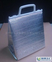 LDPE EPE Cooler Bag Plastic Thermal Bag for promotion