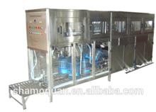 300BPH 20 liter Bottled Water Filling Machine/ Automatic Bottle Washing Filling Capping Machine/ 5 gallon bottle filling machine