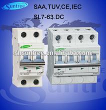 SL7 AC DC Circuit Breakers 415V Pass CE CB IEC Certificate