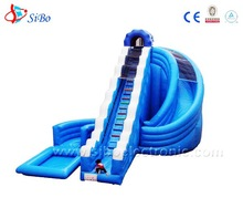IC Popular water slide,big cheap inflatable water slides for sale