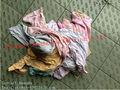 nuevos colores de algodón de corte trapos de limpieza
