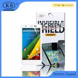 Free sample &factory supply , 2014 hot sell ultra clear vinyl sticker for cell phones Motorola Moto G