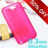Bright color Super Thin Cases Covers for Samsung Galaxy Note 2 N7100