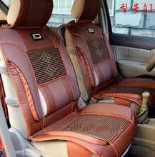 2015 Design leather custom flag car seat cover