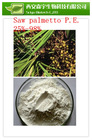saw palmetto fruit extract fatty acids , Saw Palmetto P.E.(25%,45% Fatty acids)