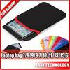 """tablet carrying bag Custom Made Waterproof Neoprene Tablet/Laptop Bag 7""""/8""""/9""""/10.1""""/13""""/15.6""""/17.3"""""""