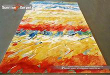 Handmade fashion art painting rugs and carpets