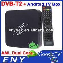 amlogic-8726 mx android 4.2 1G RAM 8G ROM 1.8G 2G/ 8G atsc android dvb-t2 with1080P XBMC dvb-t2 mini