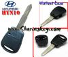 Hyundai 1 Button Side Remote Key Shell W/O Logo HYN10 Blade