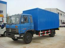 Dongfeng 4x2 Cargo Van Truck With CUMMINS Engine /Van Cargo Truck
